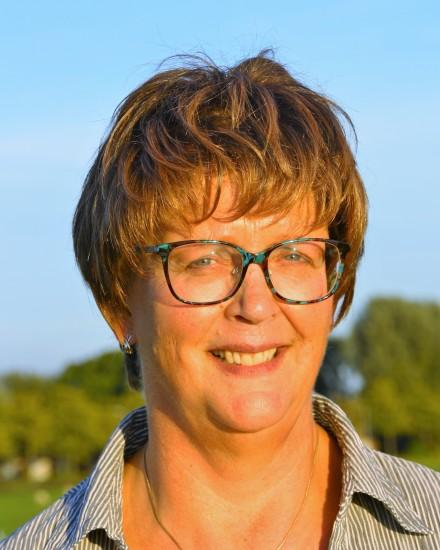 Penningmeester Nell Kriek
