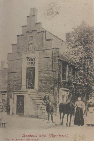 Het Raadhuis van Spanbroek