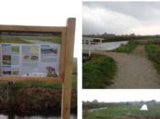 Informatieborden gemeente Opmeer