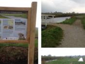 Informatieborden voor de gemeente Opmeer